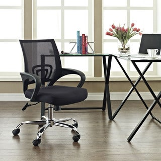 Zoom Mesh Back Black Office Chair