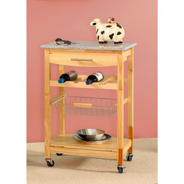 Oh! Home Constance Mobile Kitchen Island