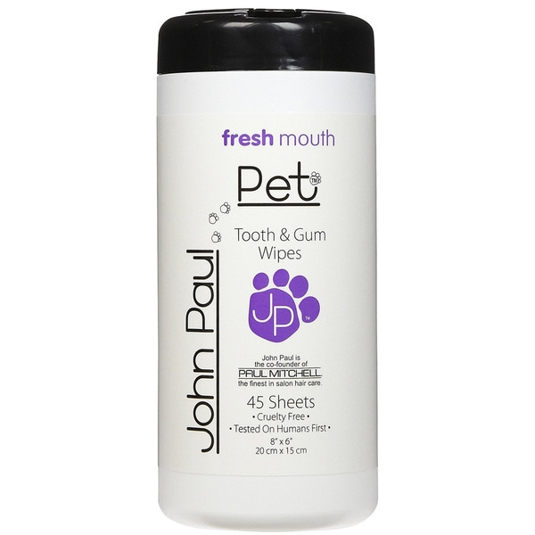John Paul Pet Fresh Mouth Tooth/ Gum Wipes