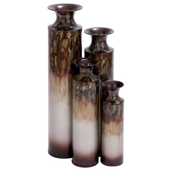 Metal Vases (Set of 4)