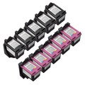 Sophia Global Remanufactured Ink Cartridge Replacements for HP 61XL (Pack of 10)