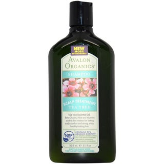 Avalon Organics Scalp Treatment Tea Tree 11-ounce Shampoo