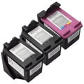 Sophia Global Remanufactured Ink Cartridge Replacements for HP 60XL (Pack of 3)