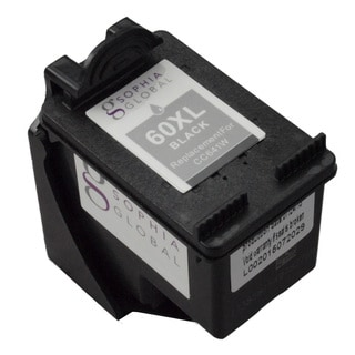 Sophia Global Remanufactured Black Ink Cartridge Replacement for HP 60XL