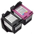 Sophia Global Remanufactured Ink Cartridge Replacements for use with HP 60XL (Pack of 2)