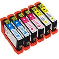 Sophia Global Compatible Ink Cartridge Replacements for Dell 31 (Pack of 6)