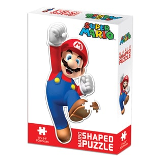 Mario Shaped 200-piece Puzzle