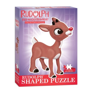 Rudolph the Red-Nosed Reindeer Shaped 200-piece Collector's Puzzle