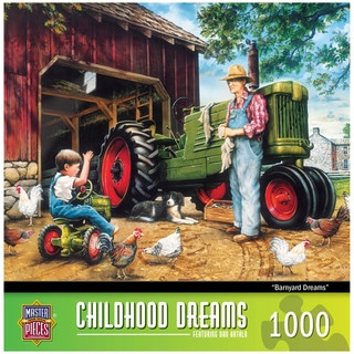Childhood Dreams Barnyard 1000-piece Puzzle