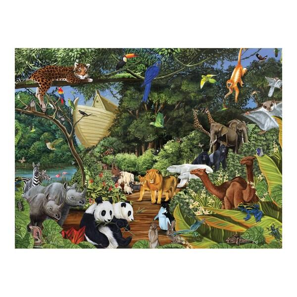 Noah's Gathering 400-piece Puzzle 12209156