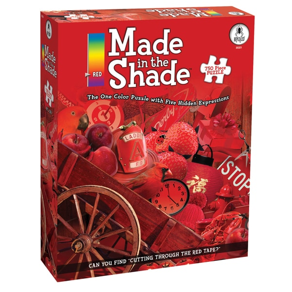 Red Made in the Shade 750-piece Jigsaw Puzzle