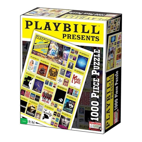 Playbill Best of Broadway 1,000-piece Jigsaw Puzzle