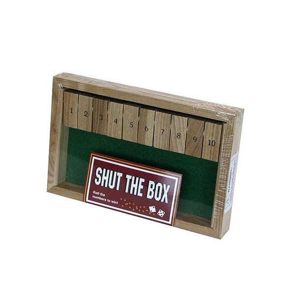Shut the Box Board Game