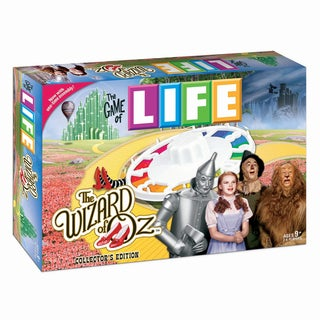 The Game of LIFE The Wizard of Oz 75th Anniversary Collector's Edition Board Game