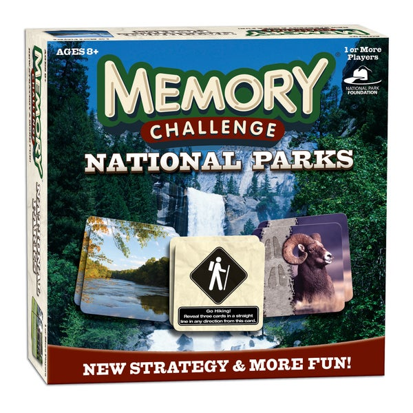 Memory Challenge National Parks Edition Matching Game