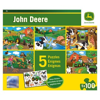 John Deere Puzzle Value Pack