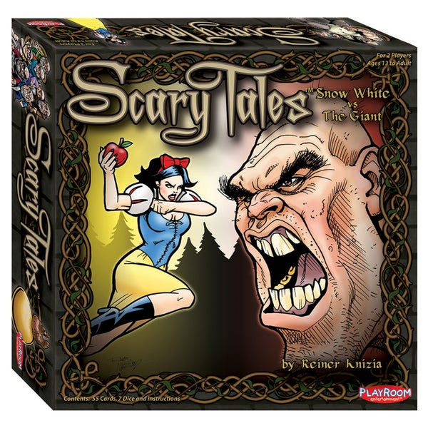 Scary Tales: The Giant vs. Snow White Card Game
