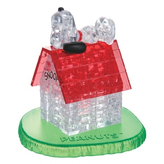3D Crystal Snoopy House 50-piece Puzzle
