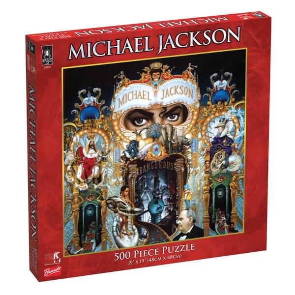 Michael Jackson Dangerous 500-piece Jigsaw Puzzle
