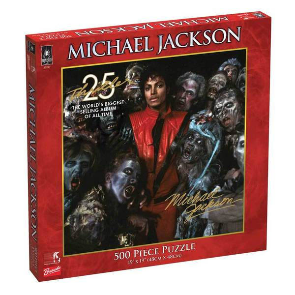 Michael Jackson Thriller 25th Anniversary 500-piece Jigsaw Puzzle