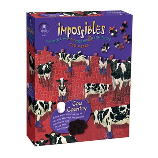 Cow Country Impossibles 750-piece Jigsaw Puzzle
