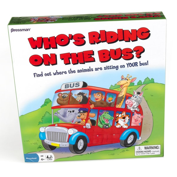 'Who's Riding on the Bus?' Game