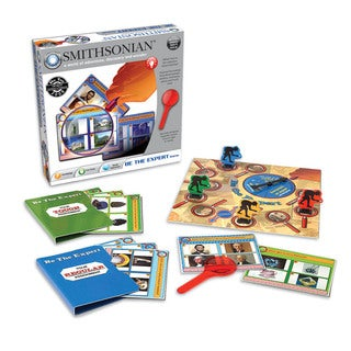 Smithsonian Institution Be The Expert Board Game