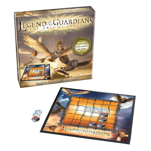 Legend of the Guardians The Owls of Ga'Hoole Circle of Strength Board Game 12209245