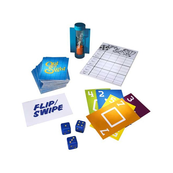 Out of Sight Card and Dice Game