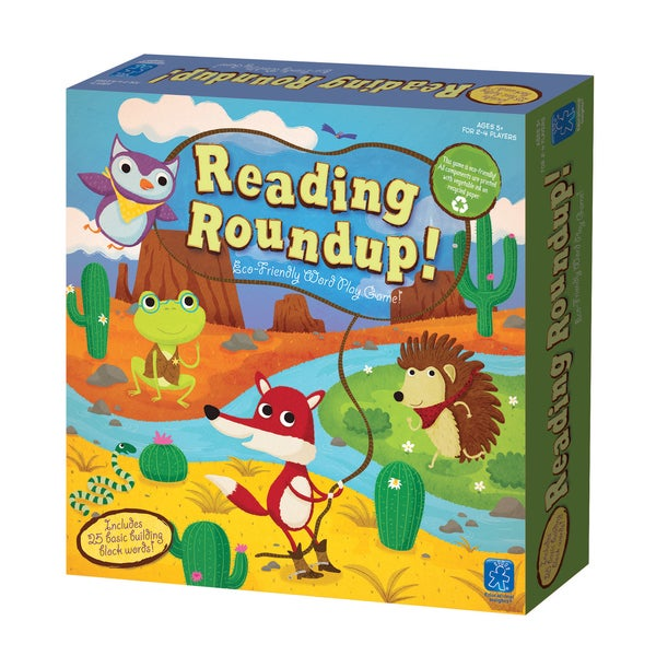 Reading Roundup! Educational Board Game