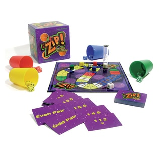 Family Games Inc. Zip Board Game