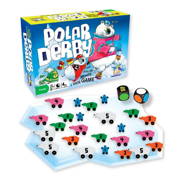 Polar Derby Board Game