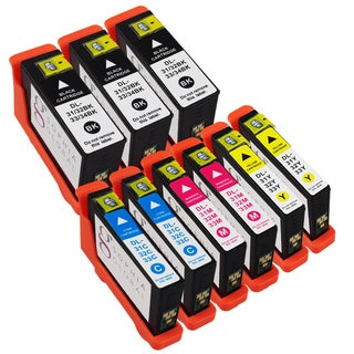Sophia Global Compatible Ink Cartridge Replacements for Dell 31 (Pack of 9)