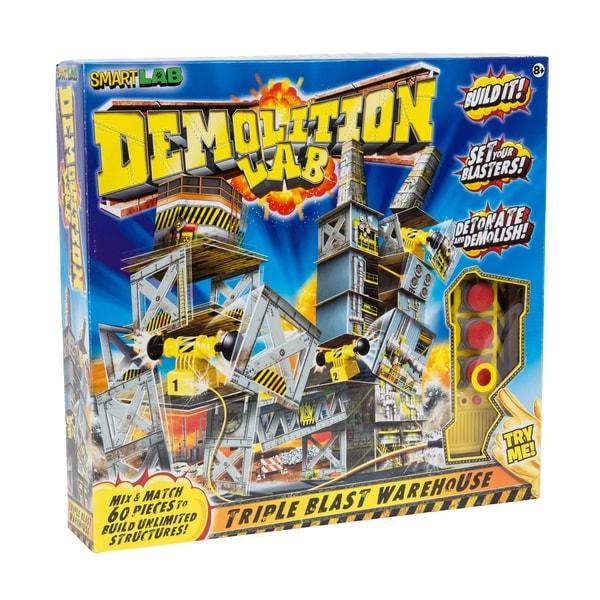 Smart Lab Demolition Lab Triple Blast Warehouse