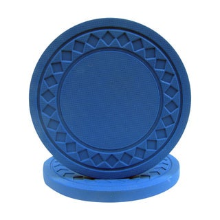 Blue Clay Poker Chips (Pack of 100)