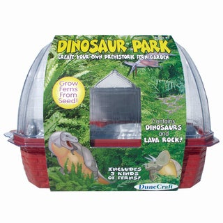 Dinosaur Park Windowsill Greenhouse
