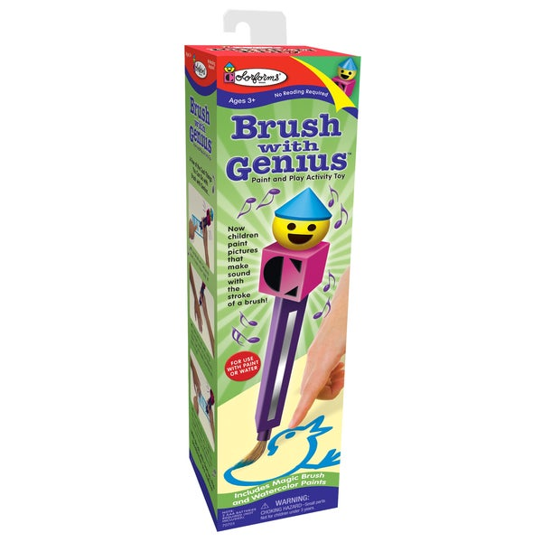 Brush with Genius Paint N' Play Activity Toy 12209403