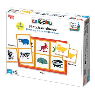 University Games Eric Carle's Match-ominoes