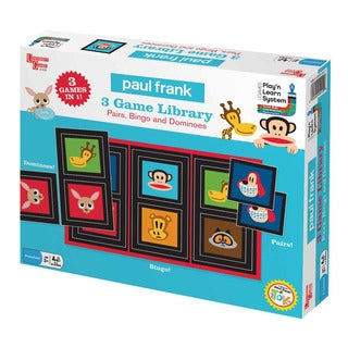Paul Frank 3 Game Library: Pairs, Bingo and Dominoes