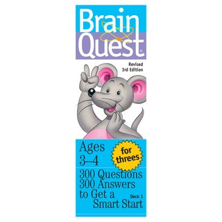 Workman Publishing Brain Quest For Threes Game