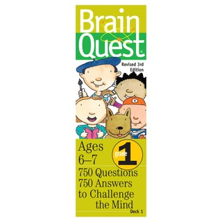 Workman Publishing Brain Quest 1st Grade Game