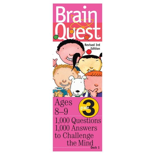 Workman Publishing Brain Quest 3rd Grade Game