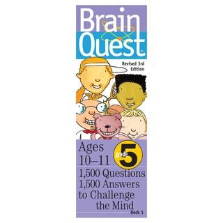 Workman Publishing Brain Quest 5th Grade Game