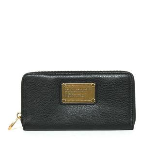Marc by Marc Jacobs 'Vertical Zippy SLG' Black Leather Wallet