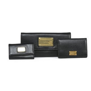 Marc by Marc Jacobs Continental Wallet, Business Card Case and Key Case Set