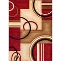 Generations Red Area Rug (2'3 x 3'11)