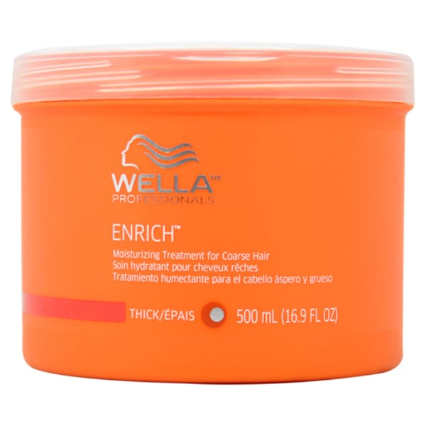 Wella Enrich Moisturizing Treatment Ffor Coarse Hair 16.9-ounce Treatment