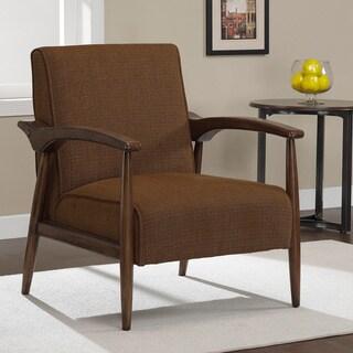 Gracie Chestnut Retro Arm Chair