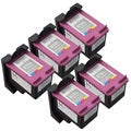 Sophia Global Remanufactured Color Ink Cartridge Replacements for HP 61XL (Pack of 5)