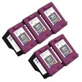 Sophia Global Remanufactured Color Ink Cartridge Replacements for HP 901XL (Pack of 5)